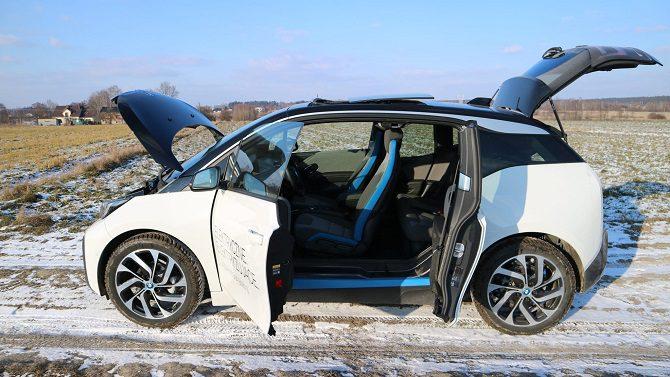 BMW i3 94 Ah Rex bateria, zasięg, czas ładowania, wnętrze, wygląd zewnętrzny, światła LED, range extender