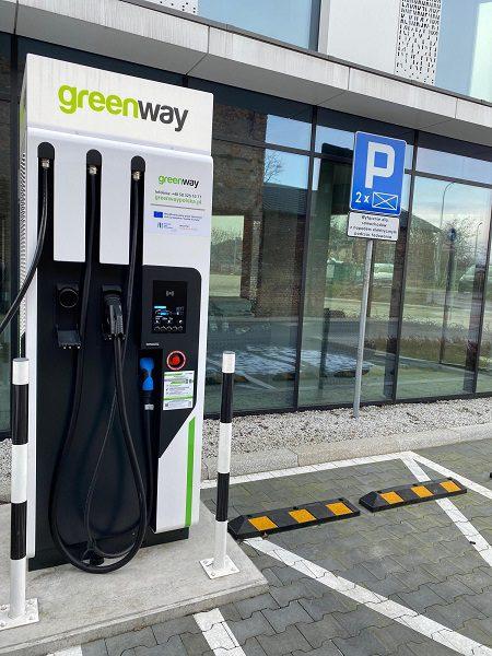GreenWay -V Offices, al. 29 Listopada 22, Kraków, stacja ładowania, ładowarka, punkt ładowania, punkty ładowania
