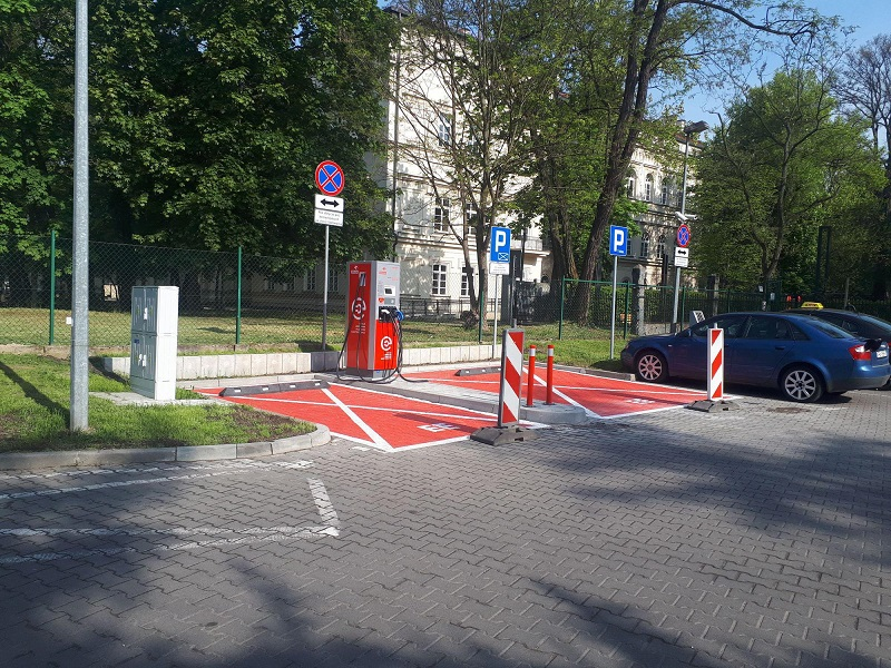 Stacja Paliw Orlen, ul. Kazimierza Wielkiego 121, 30-082 Kraków, stacja ładowania, ładowarka, punkt ładowania, punkty ładowania