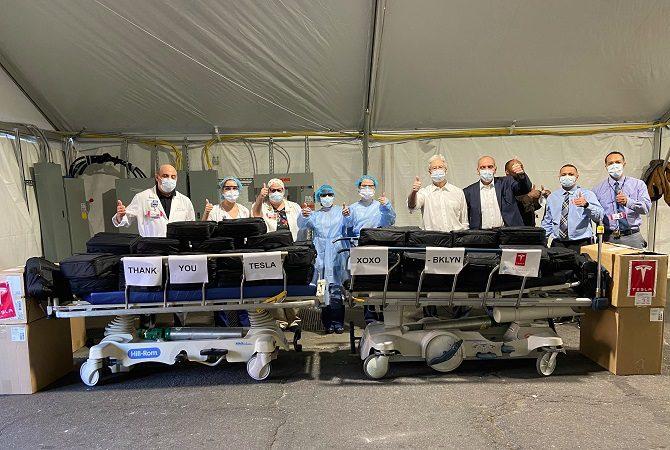 Respiratory Tesli trafiają do szpitali w USA, Tesla, respirator, koronawirus, covid-19, giga new york