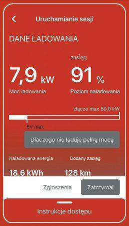 Orlen, aplikacja do ładowania, orlen charge, samochody elektryczne, auta elektryczne, elektromobilność, appka, apka, informacje na temat sesji ładowania