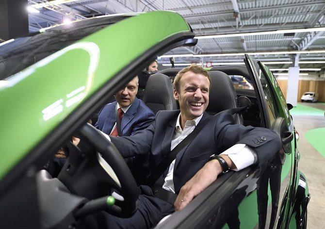 FRANCJA PODWYŻSZA DOPŁATY DO EV, PREZYDENT FRANCJI OGŁASZA PAKIET POMOCOWY DLA SEKTORA AUTOMOTIVE