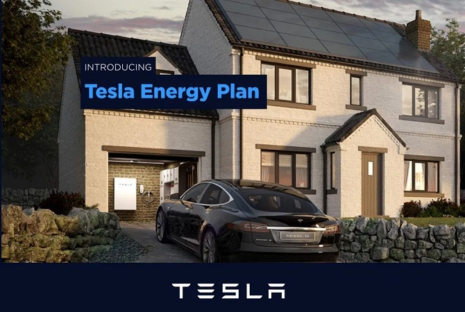 TESLA DOSTAWCĄ ENERGII W WIELKIEJ BRYTANII, TESLA, TESLA ENERGY, TESLA SPRZEDAWCĄ ENERGII ELEKTRYCZNEJ W UK