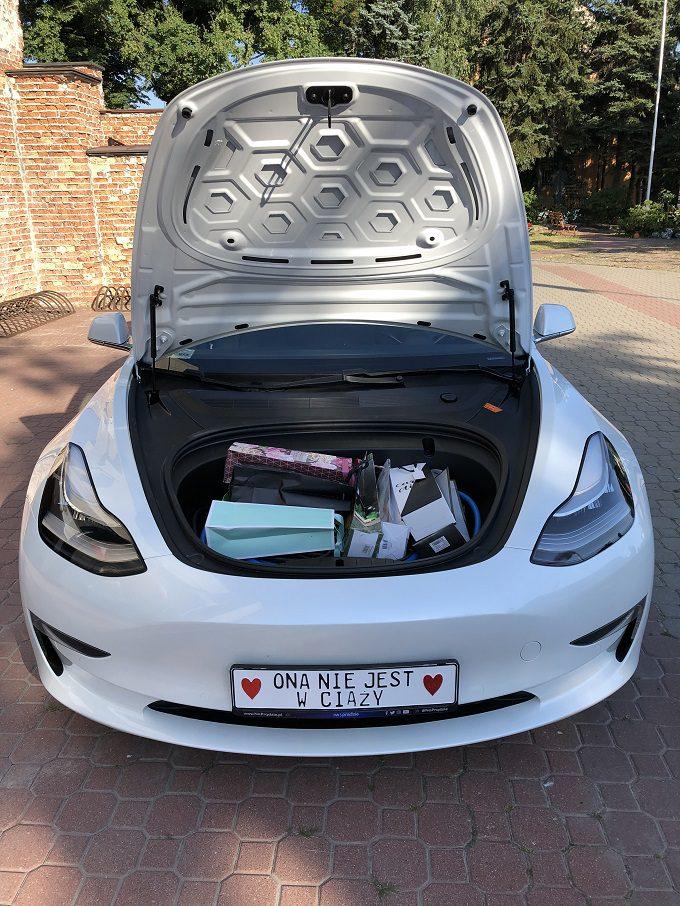Tesla Model 3 Wynajem warszawa 3, Tesla do ślubu, Tesla ślub