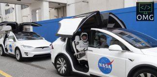tesla, tesla model x, nasa, spacex, jaxa, crew 1, dragon crew, iss, lot na międzynarodową stację kosmiczną