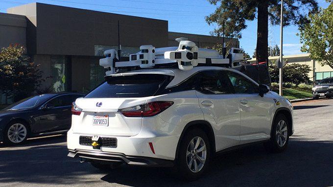 apple, pojazdy autonomiczne