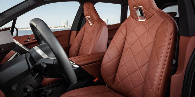 BMW iX xDrive fotele
