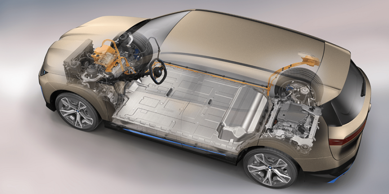 BMW iX xDrive siliniki